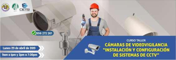 Curso taller cámaras de videovigilancia
