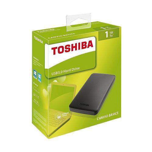 Disco ext toshiba 1tb basic nuevo 3.0 original caja sellada!