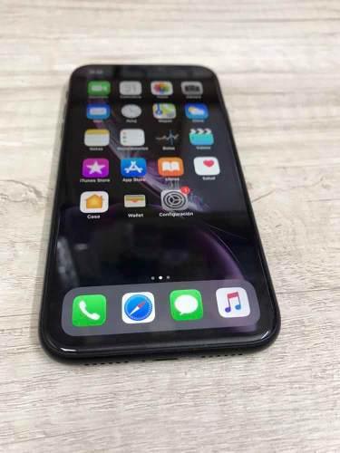 Iphone xr 64gb 3gb ram black seminuevo 9.9