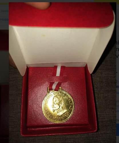 Antiguedad, moneda, medalla, servicio militar volunario peru