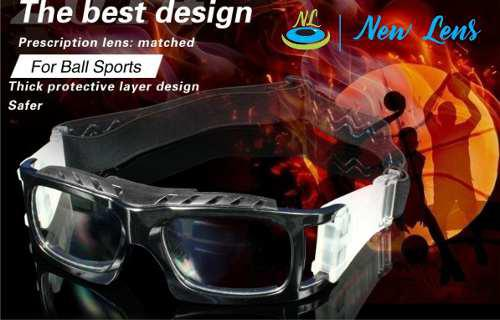Lentes o gafas de proteccion deporte para medida
