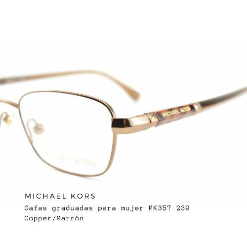 diseño superior mejor lugar mejor precio Montura Michael Kors Mk357 239 +lunas Blue Protect Gratis