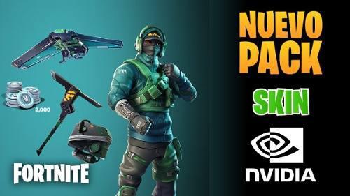 Fortnite Nvidia Skin
