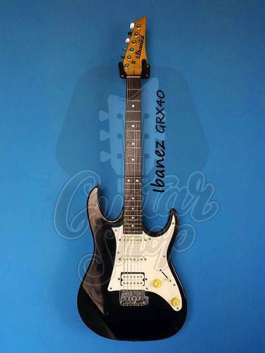 Guitarra ibanez gio grx40 red no fender, yamaha, ltd