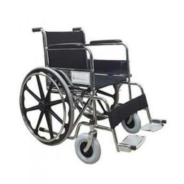 Silla de ruedas de lona llantas gruesas