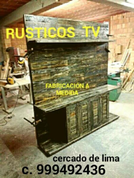 Rusticos tv fabricación