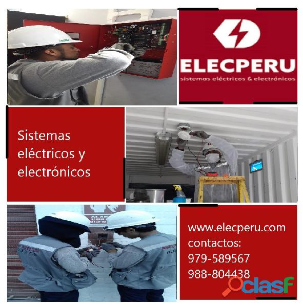 Sistemas eléctricos elecperu