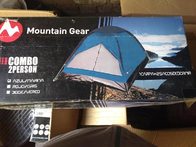 Carpa de camping mountain gear nuevo