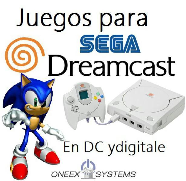 Juegos de sega dreamcast a domicilio