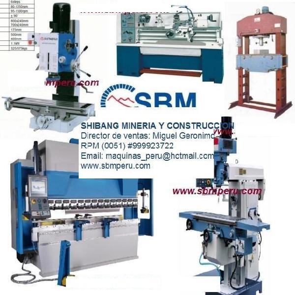 Maquinas metalmecánica industrial reconstruccion piezas