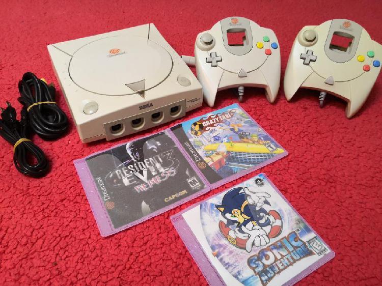 Sega dreamcast consola japonesa remato