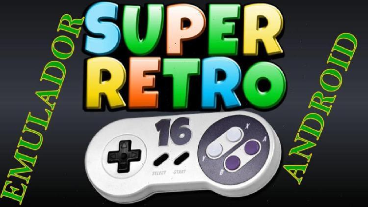 Super nintendo 1000 juegos pc y android