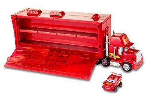 Cars mini racers mack transporter