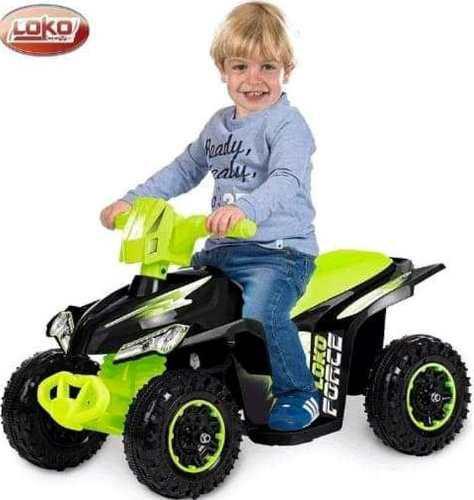 Cuatrimoto nueva a motor y batería moto niño carro
