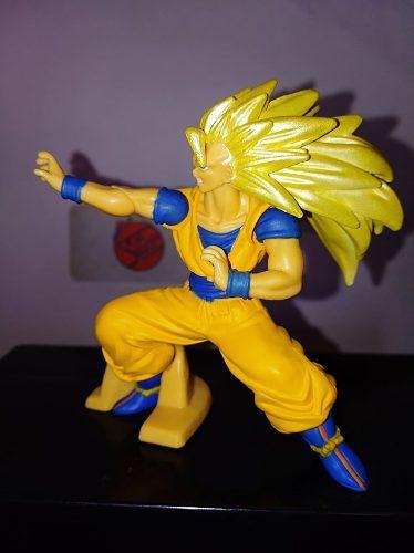 Dragon ball figura gashapon goku ssj3 original bandai