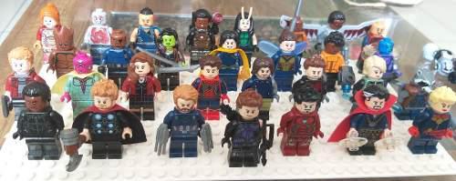 Minifigura lego avengers vengadores spiderman batman ironman