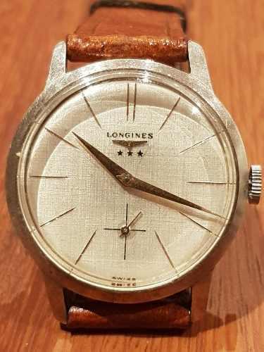 8c2f56b6985e Reloj longines bellísimo 12.68z a cuerda vintage ral