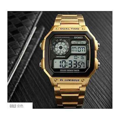 c0112db7d9c4 Reloj hombre dorado   ANUNCIOS Junio