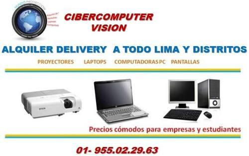 Alquiler y venta laptop, tablets, pc, proyector x undycant.