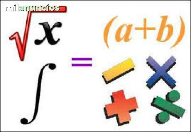 Clases de matematica fisica quimica escolares y colegiales