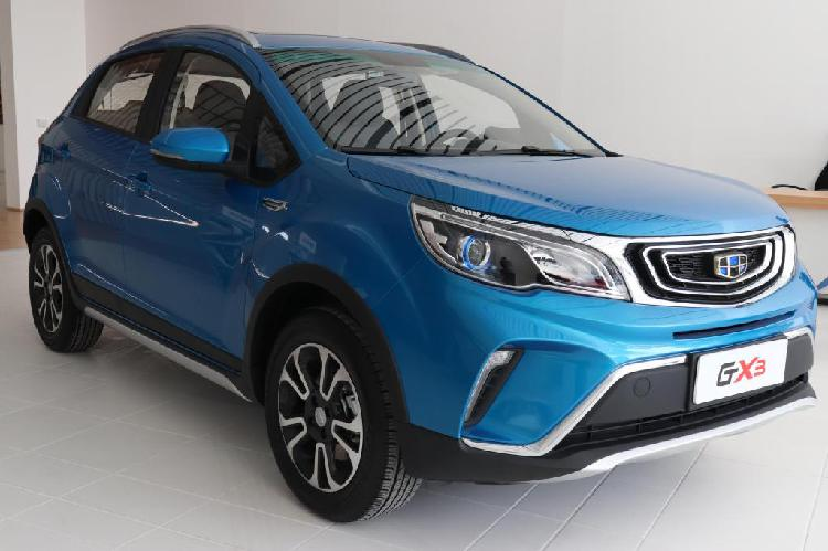 Nueva SUV Geely GX3 2019: Motor 1.5 L