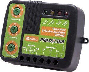 Protector de voltaje trifasico 220v ustda-220