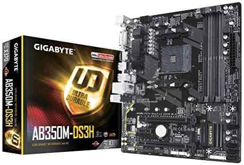 Gigabyte gaab350gaming procesador y amy ryzen am4 b350 venti