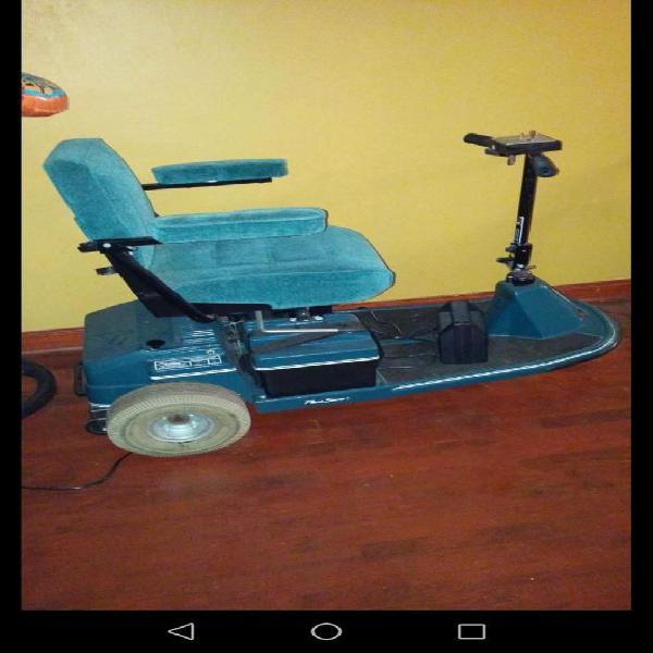 Silla de ruedas americana tipo scooter