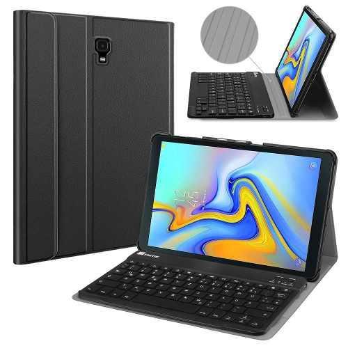 Case galaxy tab a 10.5 2018 t590 con teclado bluetooth