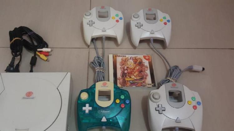 Dreamcast 4 mandos 4 memorias juego orig