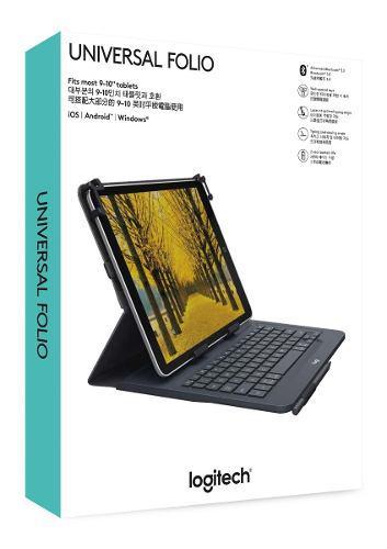 Logitech universal folio - funda con teclado