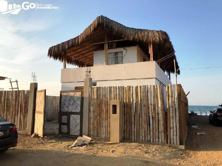 Alquiler temporal, casa de playa 180m2 a.c, punta mero