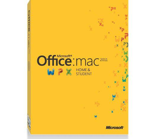 Microsoft - licencia office mac home student 2011 32/64 bits