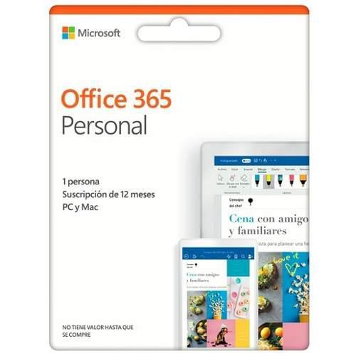 Microsoft office 365 personal - licencia suscripción anual