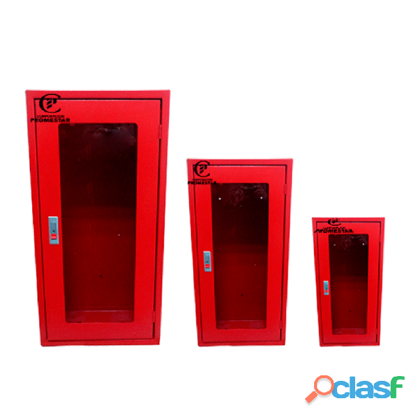 Gabinetes y pedestales para extintores