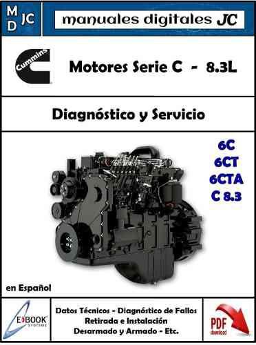 Manual motor cummins serie c 8.3l 6ct - ford cargo 1721 6cta