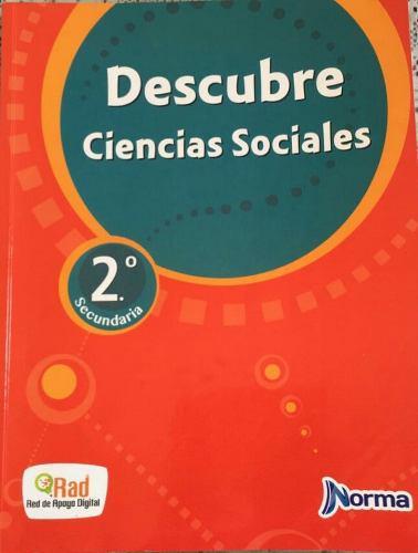 Texto descubre ciencias sociales 2° secundaria - edit.