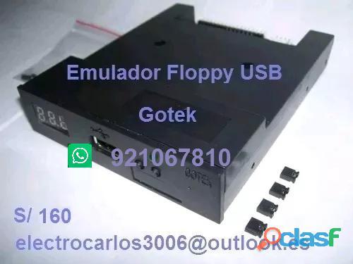 Emulador floppy usb gotek para teclados yamaha, casio, roland