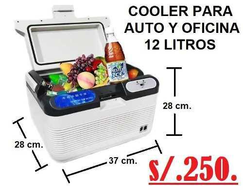Cooler 12 litros auto y oficina
