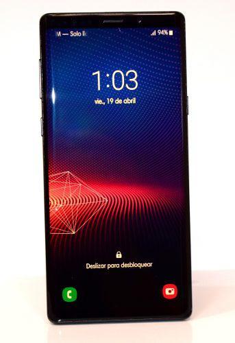 Note 9, negro 9/10 en caja-accesorios, android pie 9 one ui