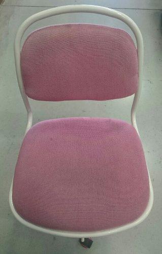 Silla pc rosada oficina casa ruedas 299 soles envio prov
