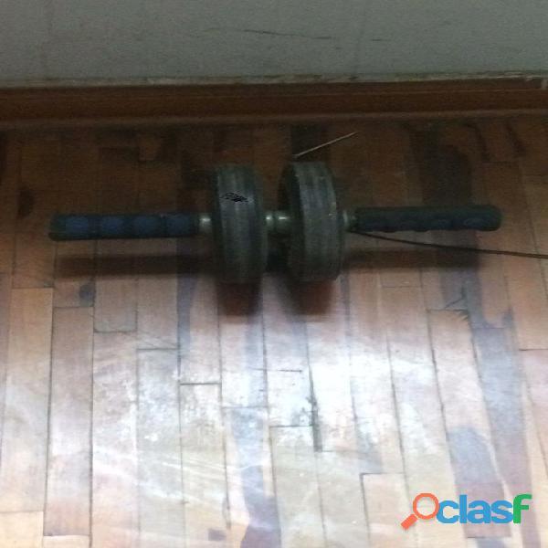 Kit de pesas   usadas