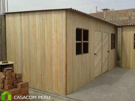 Habitaciones De Madera Para Terrazas En Madera En Lima