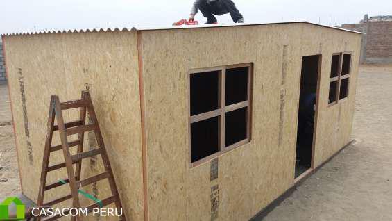 Venta De Habitaciones De Madera Prefabricados En En Lima