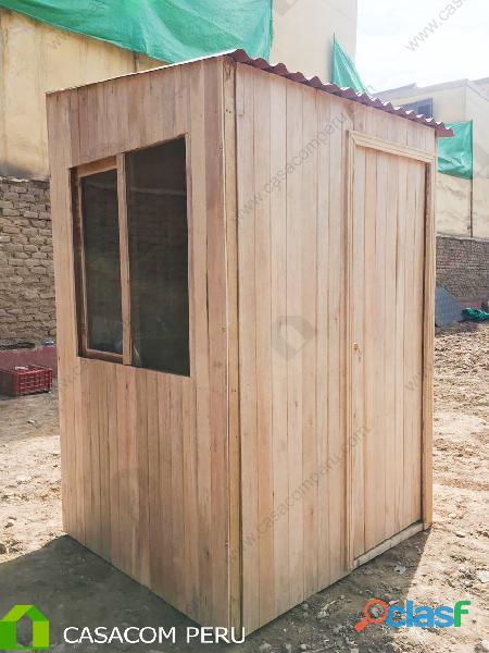 Fabricación de casetas de jardín de madera osb y machihembrado