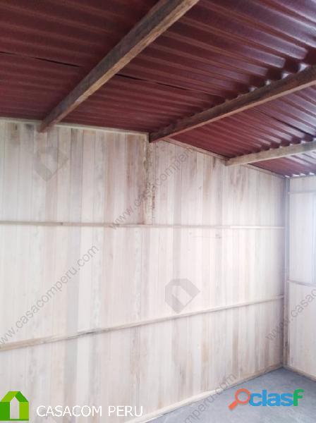 Venta de modulos   cuartos de madera en los olivos