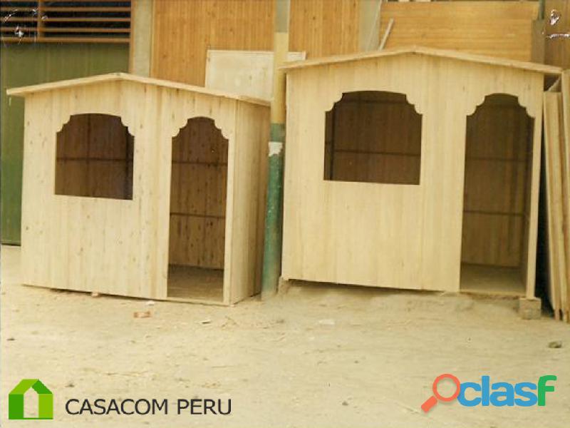 Habitaciones de madera prefabricados con madera machihembrado