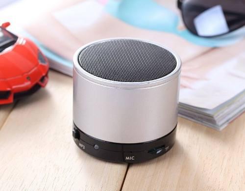 Mini bluetooth speaker material metal