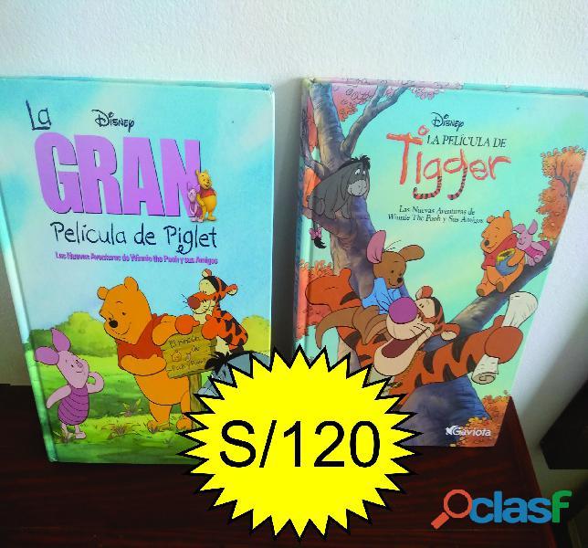 Libros infantiles de colección disney