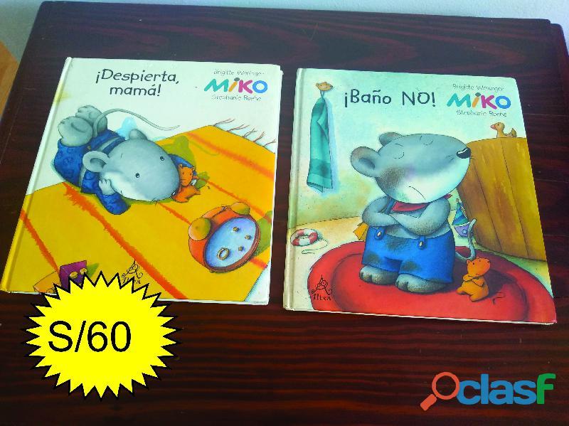 Libros infantiles de colección miko